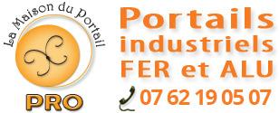 Portails pro fer et alu France entière : La Maison du Portail